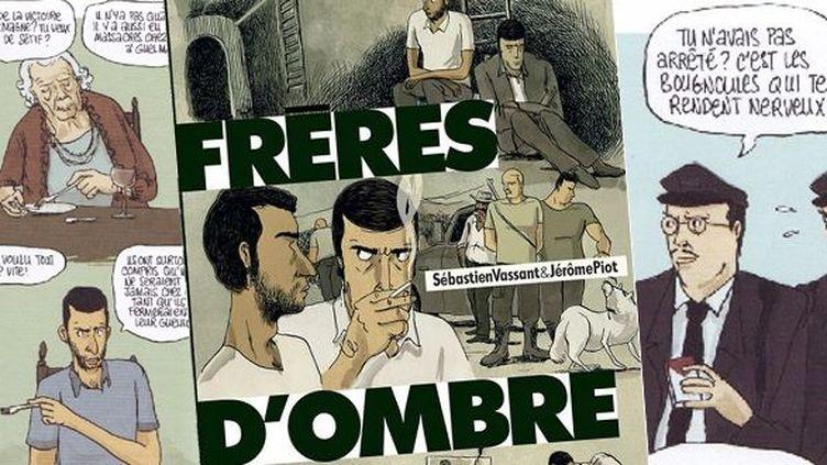 "Extraits de ""Frères d'ombre"" (Futuropolis)  (Sébastien Vassant / Jérôme Piot / Futoropolis)"