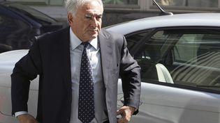 Dominique Strauss-Kahn lors d'une visite à Moscou le 9 août 2007 (MAXIM MARMUR / AFP)