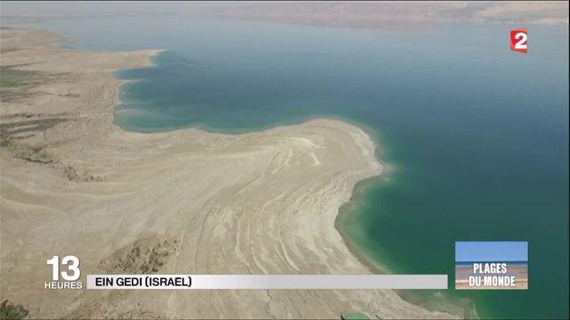 Plages du monde : mer morte, rivages en danger