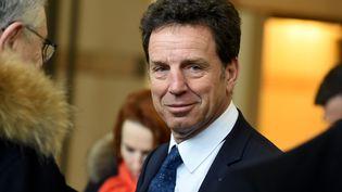 Le président du MedefGeoffroy Roux de Bézieux, au ministère de l'Économie à Paris, le 3 mars 2020. (ERIC PIERMONT / AFP)
