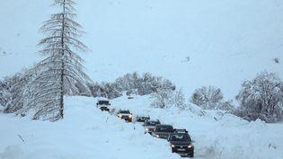 Des chutes de neige exceptionnelles àBonneval-sur-Arc, en Savoie, enjanvier 2018 (illustration). (THIERRY GUILLOT / MAXPPP)
