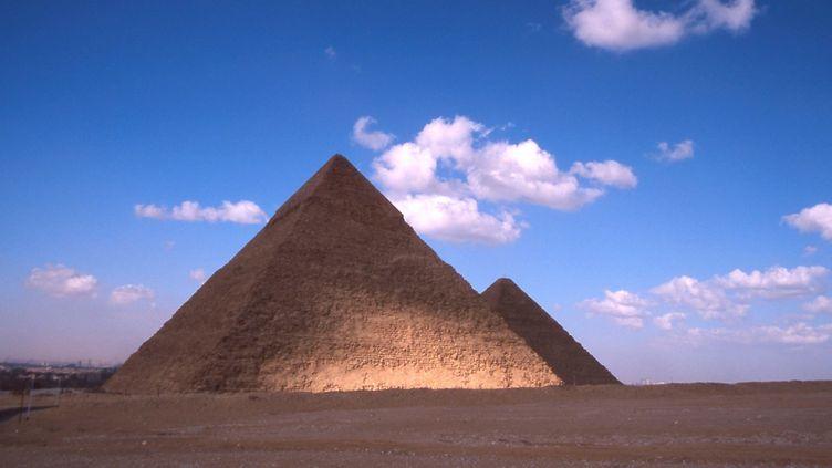 Deux des pyramides de Gizeh  (BELPRESS/MAXPPP)