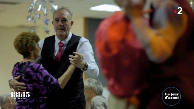 """VIDEO. """"On est des distributeurs de bonheur"""" : Serge et Philippe, deux retraités taxi-danseurs bénévoles un jour par mois"""