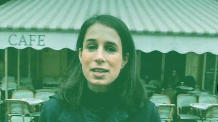 """Notre journaliste Lisa Beaujour vous explique pourquoi certains considèrent les terrasses chauffées en plein hiver comme une """"aberration écologique"""". (LISA BEAUJOUR / FRANCEINFO)"""