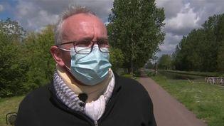 Dimanche 23 mai, Jean-Claude Girard,maire de la commune d'Ouges (Côte-d'Or)a été violemment agressé. (CAPTURE ECRAN FRANCE 2)