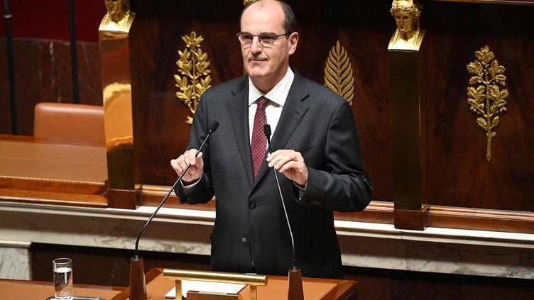 Le Premier ministre Jean Castex, le 15 juillet 2020 devant l'Assemblée nationale, à Paris. (MARTIN BUREAU / AFP)
