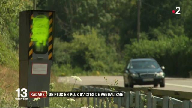 Radars : les actes de vandalisme augmentent