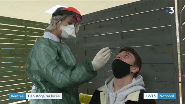 Coronavirus : des dépistages ont eu lieu dans un lycée du Nord