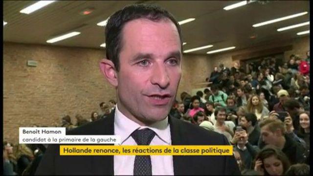 François Hollande pas candidat à un second mandat : les réactions de la classe politique