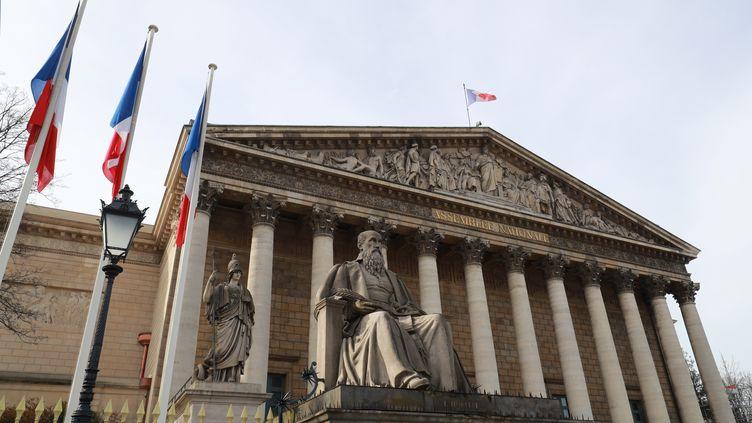 L'assemblée nationale (illustration). (LUDOVIC MARIN / AFP)
