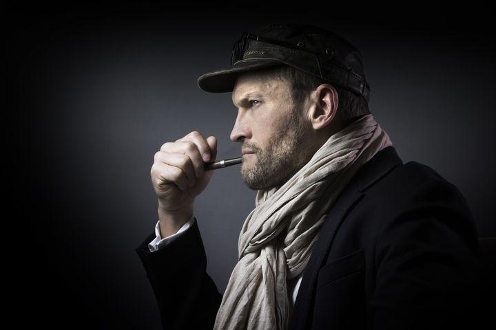 Sylvain Tesson, prix Renaudot 2019 (JOEL SAGET / AFP)