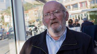 Le fondateur de l'entreprise Poly Implant Protheses (PIP), Jean-Claude Mas, le 11 novembre 2015 à Six-Fours-les-Plages (Var). (VIOLAINE JAUSSENT / FRANCETV INFO)
