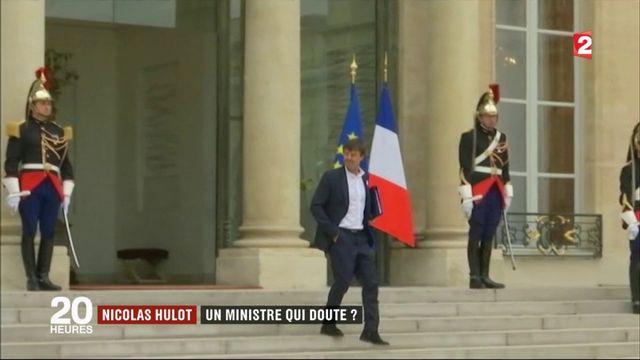 Nicolas Hulot : un ministre qui doute ?