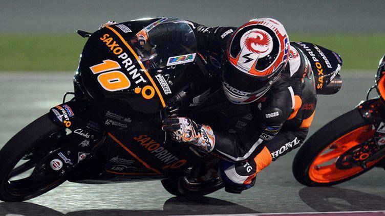 Alexis Masbou (Honda) a ouvert la saison par une victoire au Qatar (- / MAXPPP)