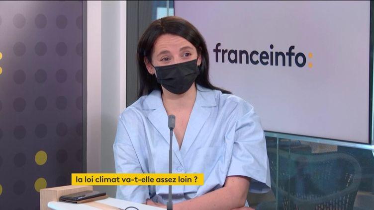 Eva Sadoun,coprésidente du mouvement Impact France (31 mars 2021). (FRANCEINFO / RADIO FRANCE)