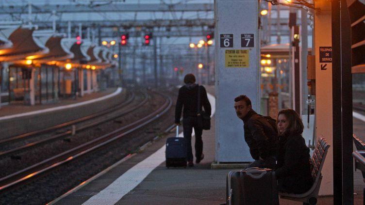 Gare du Mans le 11 décembre 2011. (OLIVIER BLIN /LE MAINE LIBRE / MAXPPP)