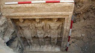 Découverte de la tombe de la princesse Chert Nebti (photo datée du 11 octobre 2012)  (Supreme Council of Antiquities / AFP)