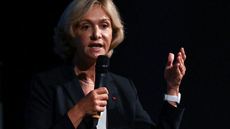 Valérie Pécresse candidate à l'élection présidentielle en avril 2022. (PASCAL GUYOT / AFP)