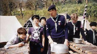 Jugé pour agressions sexuelles sur mineurs de 15 ans, Bernard Preynat encadrait un groupe de scouts de Sainte-Foy-lès-Lyon (Rhône) au moment des faits, dans les années 1980 et 1990. (ASSOCIATION LA PAROLE LIBEREE)