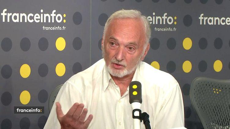 Christian Bourreau, président de l'Union française des retraités, le 27 août 2018. (FRANCE INFO)