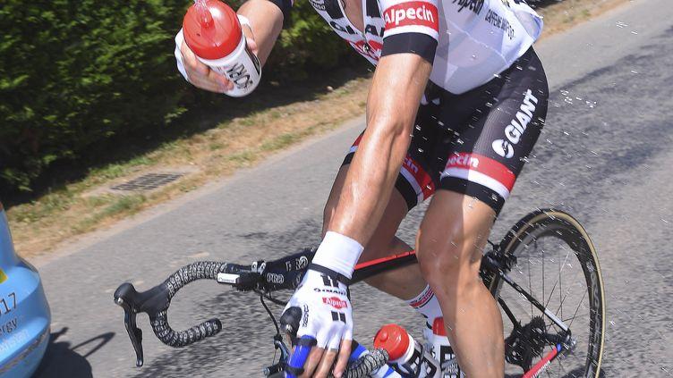 John Degenkolb avec le sourire sur le Tour de France (DE WAELE TIM / TDWSPORT SARL)