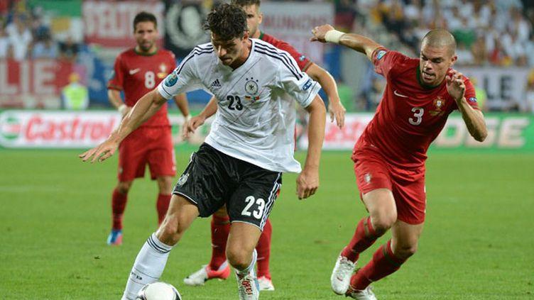 L'Allemand Mario Gomez sera le seul buteur du match Allemagne - Portugal