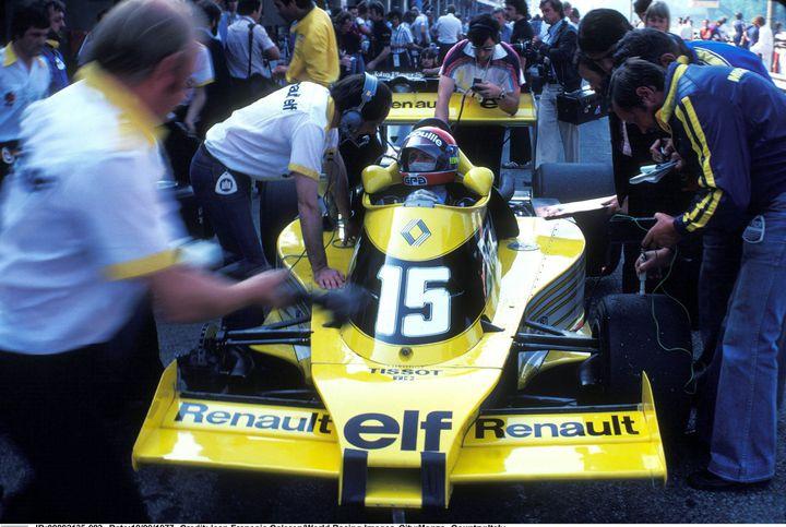 Jean-Pierre Jabouille a été le premier pilote de Renault en F1