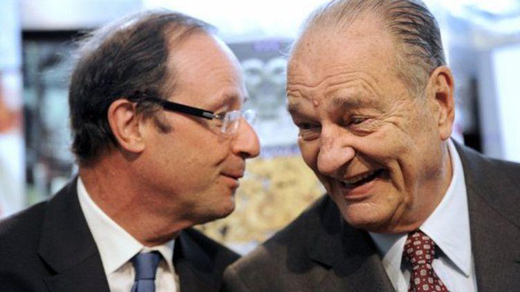Hollande veut en finir avec l'immunité présidentielle, comme celle dont a joui Chirac durant ses mandats (JEAN-PIERRE MULLER / AFP)