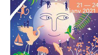 Affiche des Nuits de la lecture 2021 (Nuits de la lecture)