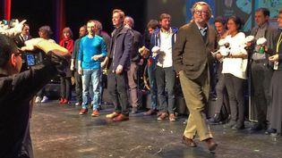 Cérémonie de remise des Fauves, Festival d'Angoulême, 28 janvier 2017  (Laurence Houot / Culturebox)