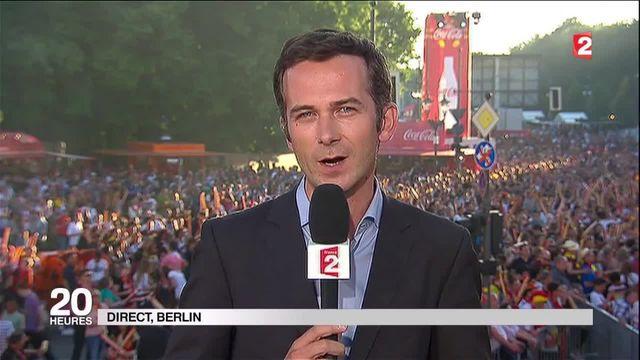 "France-Allemagne : ""une ambiance incroyable dans la fan zone de Berlin"""