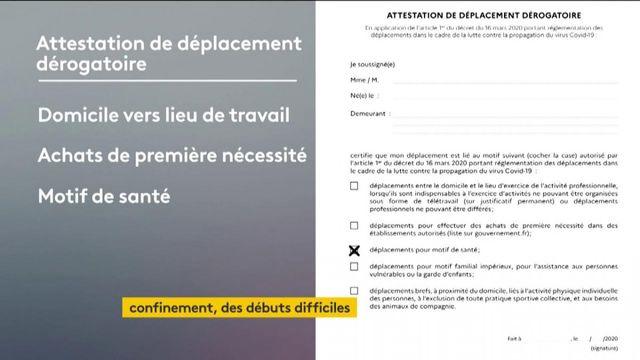 Coronavirus : au premier jour du confinement, les Français profitent des dérogations