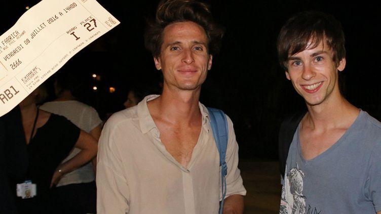 Gaspard et Quentin, 12 heures de traversée avec Julien Gosselin  (Sophie Jouve/Culturebox)