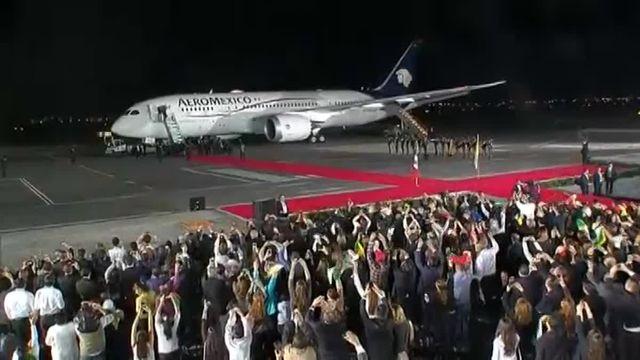Le pape quitte le Mexique