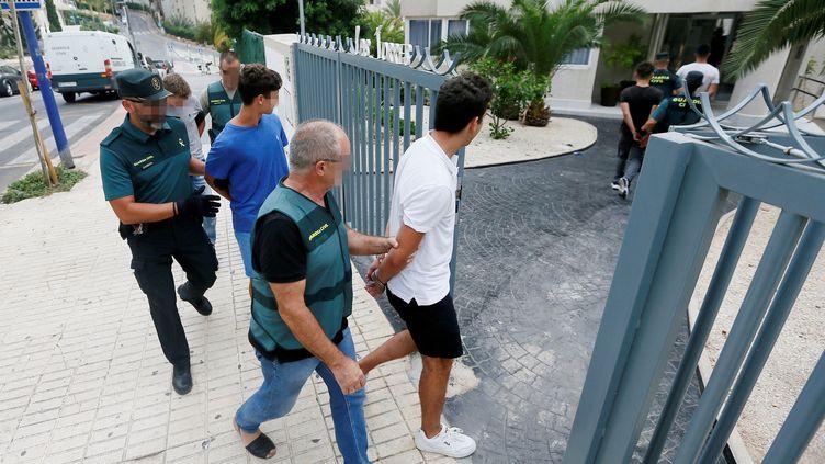 Cinq jeunes Français ont été interpellésle 7 août 2019 à Benidorm en Espagne. (MANUEL LORENZO / EFE)