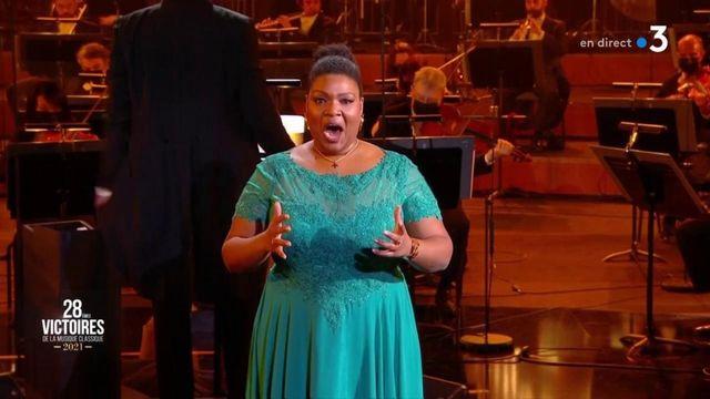 Marie-Laure Garnier aux Victoires de la musique classique 2021