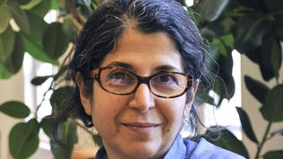 La chercheuse franco-iranienne Fariba Adelkhah en 2012 (THOMAS ARRIVE / SCIENCES PO)