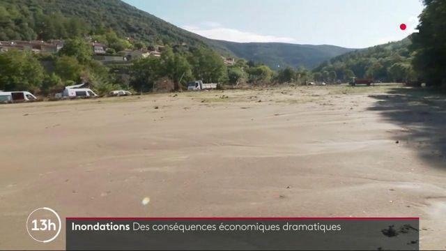 Inondations dans le Gard : des conséquences économiques dramatiques