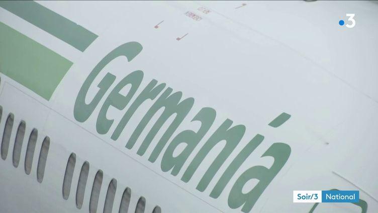 Un avion de la compagnie Germania (France 3)