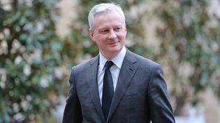 Le ministre de l'Economie Bruno Le Maire lors de son arrivée au palais de l'Elysée, mercredi 26 février 2020. (LUDOVIC MARIN / AFP)