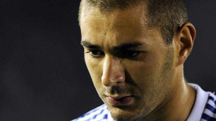Le Madrilène Karim Benzema