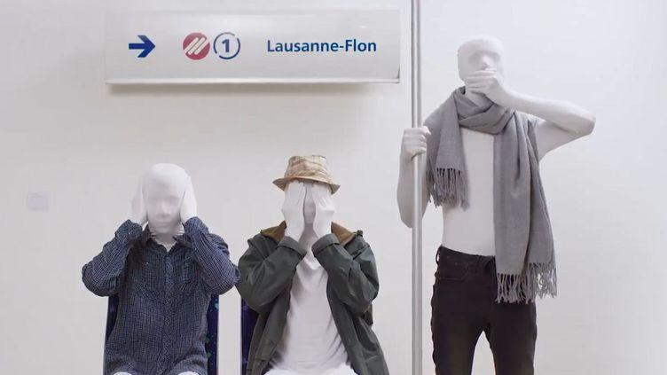 Capture d'écran du clip réalisé par la ville suisse de Lausanne contre le harcèlement sexuel. (VILLE DE LAUSANNE)