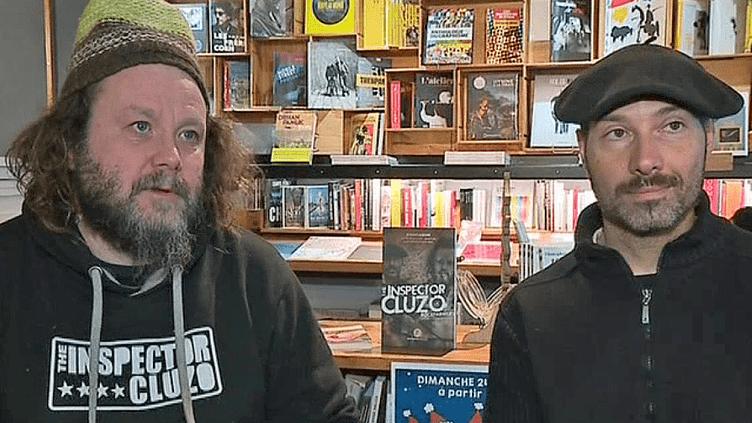 Laurent et Mathieu les deux compères de The Inspector Cluzo  (France 3 / Culturebox )