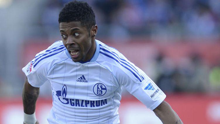 Michel Bastos, sous le maillot de Schalke 04