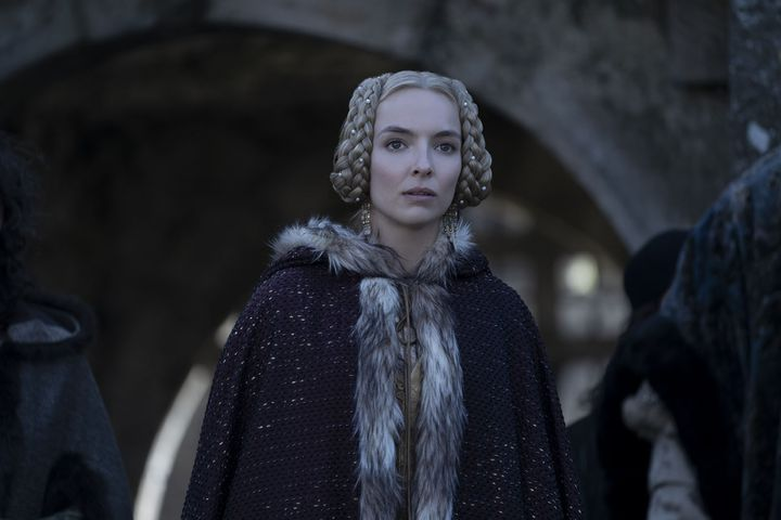 """Jodie Comer in """"The Last Duel"""" by Ridley Scott.  (20th CENTURY FOX? All Rights Reserved)"""