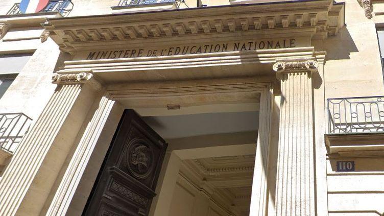 L'entrée du ministère de l'Education nationale à Paris. (GOOGLE STREET VIEW)
