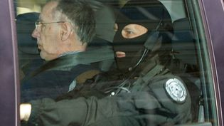 Michel Fourniret en mai 2008. (FRANCOIS NASCIMBENI / AFP)