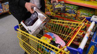 La plupart des jouets importés dans les rayons français proviennent de Chine. (ALAIN JOCARD / AFP)