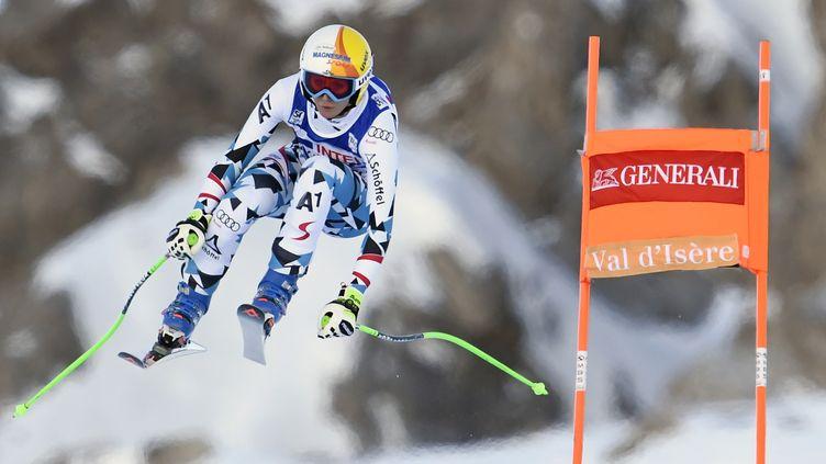 La skieuse autrichienne Cornelia Hütter (PHILIPPE DESMAZES / AFP)