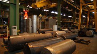 L'usine Aubert et Duval des Ancizes (Puy-de-Dôme), appartenant au groupe Eramet, le 10 novembre 2007. (FRANCIS CAMPAGNONI / LA MONTAGNE / MAXPPP)